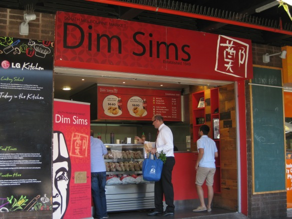 The famous Australian dim sim shop in South Melbourne. There are always long queues here for this Chinese-inspired Australian snack. Photo: Mabel Kwong