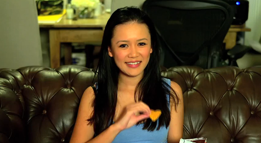 "Natalie Tran typically begins her videos with a friendly ""Hi"". Screenshot from ""Where Did It Go??""."