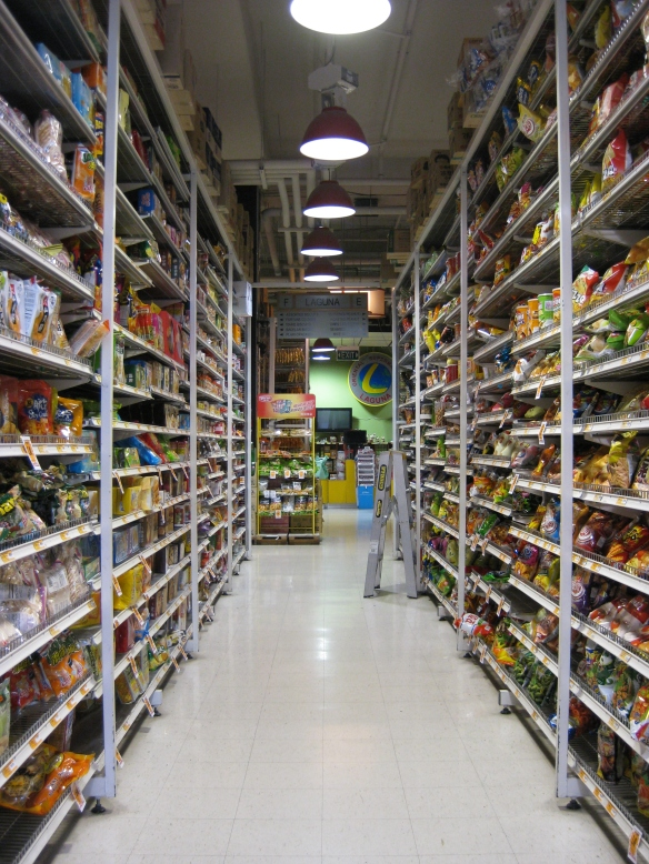 Asian grocery stores in Melbourne never fail to stock heaps of childhood favourite junk food. Photo: Mabel Kwong