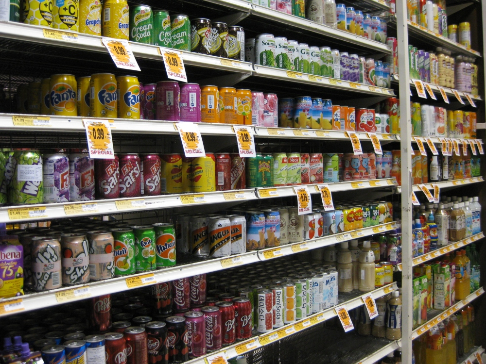 Walk into an Asian grocery shop in Melbourne, you're bound to find such an array of drinks. Maybe some you drank as a kid. Photo: Mabel Kwong