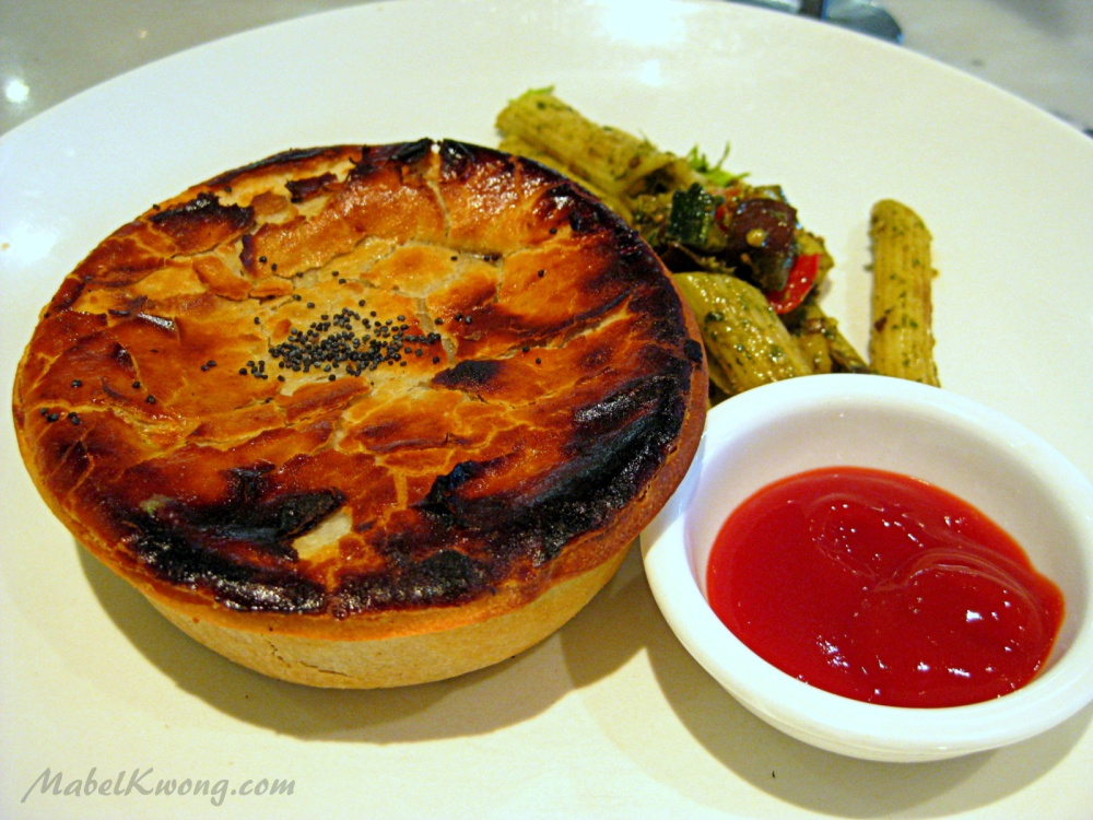 Meat pie. A popular breakfast and lunch option with Aussies.