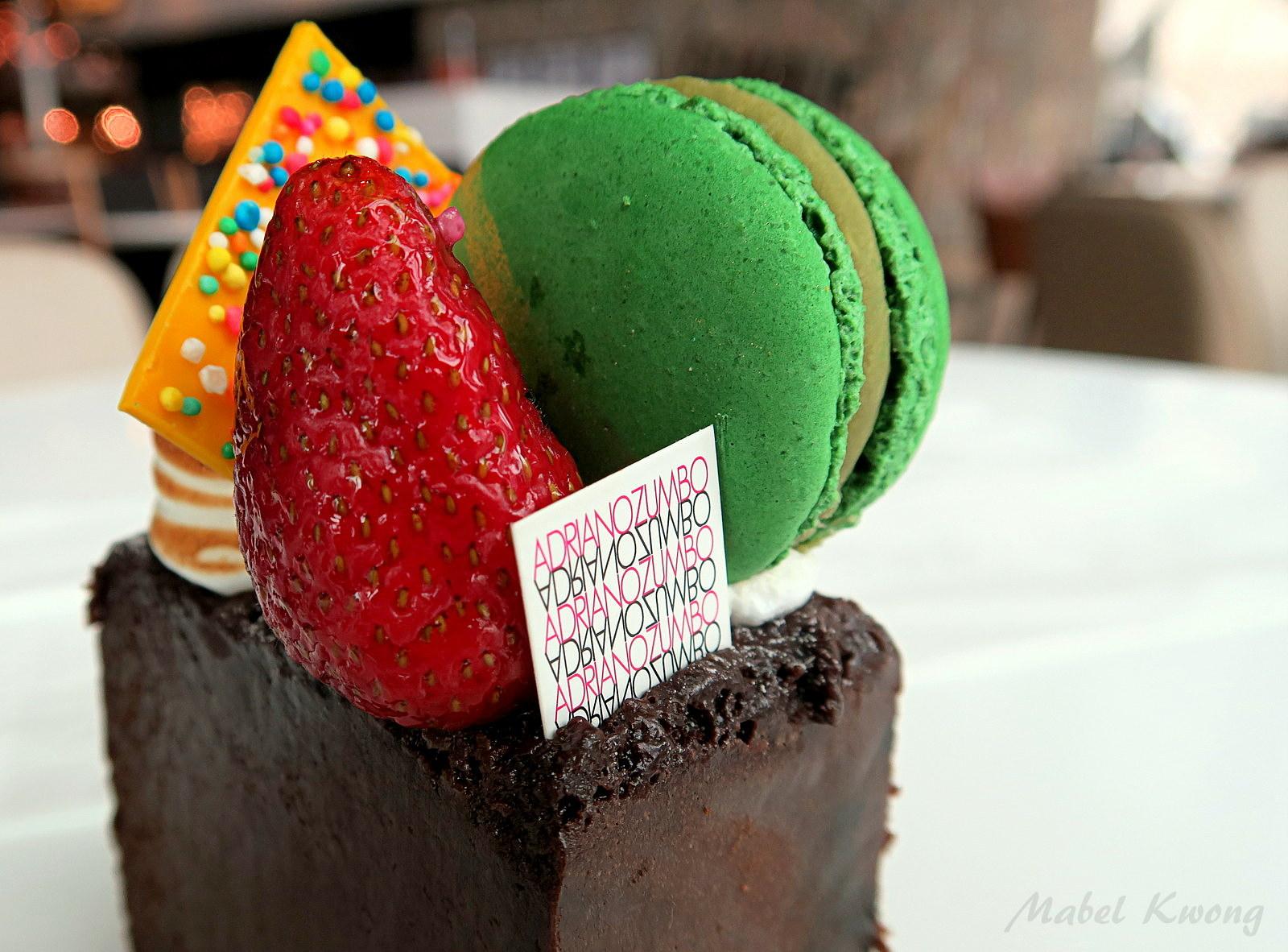 Birthday Cakes Zumbo ~ Flourless chocolate fondant cake. adriano zumbo mabel kwong