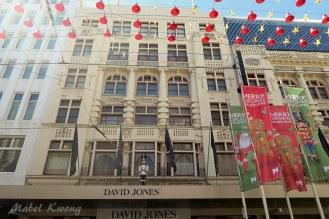 Christmas, David Jones, Bourke Street Mall, Melbourne