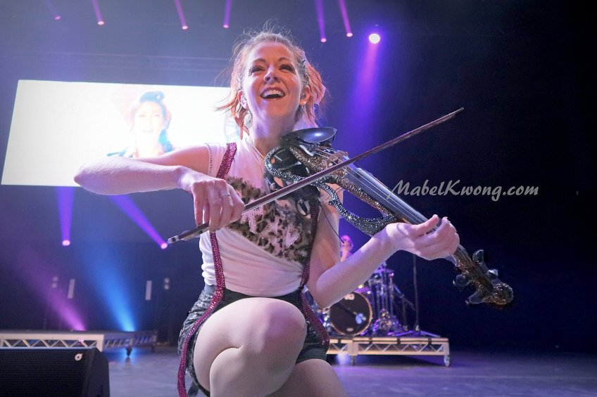 Do what you love and be happy. Lindsey Stirling, Melbourne, Australia 2017