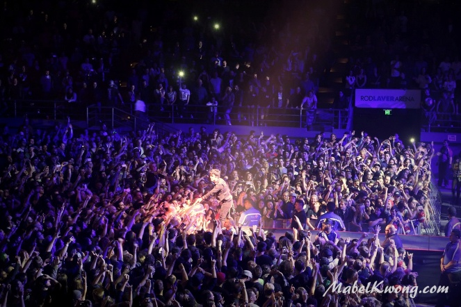 Green Day, Rod Laver Arena, Melbourne Australia 2017 (6)