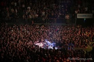 Green Day, Rod Laver Arena, Melbourne Australia 2017 (7)