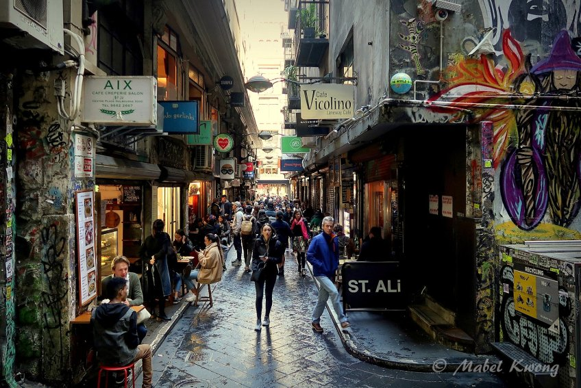 Coffee, cafes, laneways, city, Melbourne
