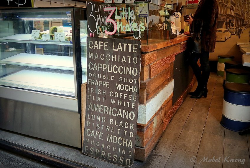 Different names for different coffees.