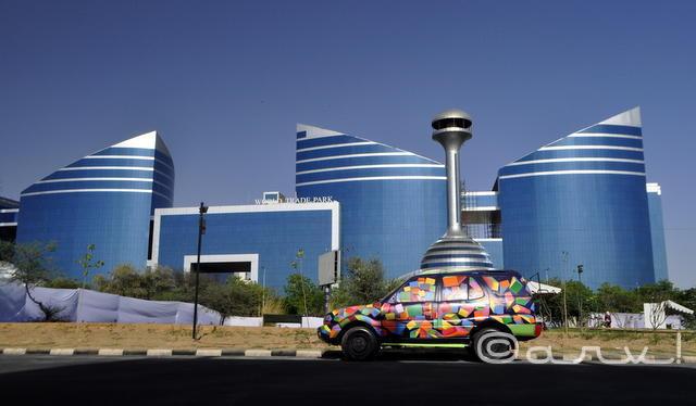 World Trade Park, Jaipur. Photo cred: Arv.