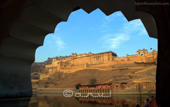Amer Fort, India. Photo cred: Arv
