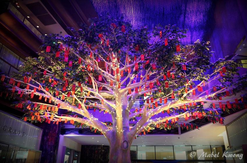 Lunar New Year, Wishing Tree, Crown Casino (1)