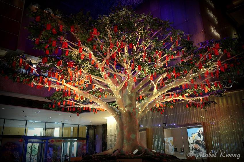 Lunar New Year, Wishing Tree, Crown Casino (4)