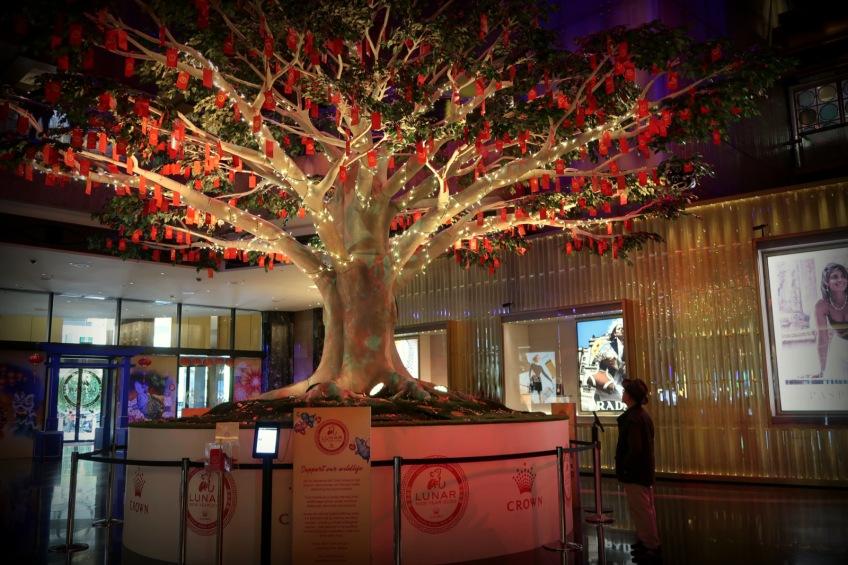 Lunar New Year, Wishing Tree, Crown Casino (5)