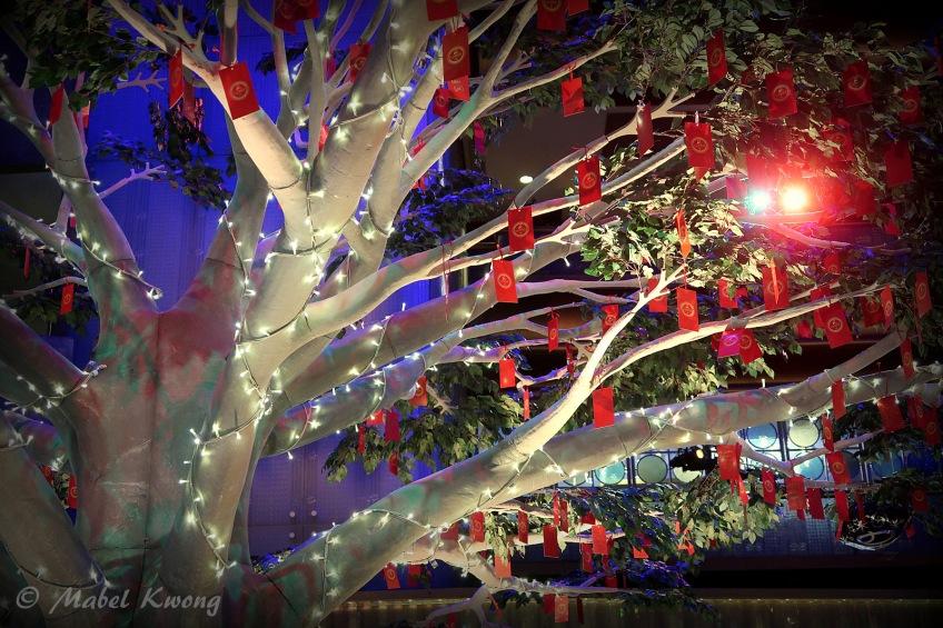 Lunar New Year, Wishing Tree, Crown Casino (2)