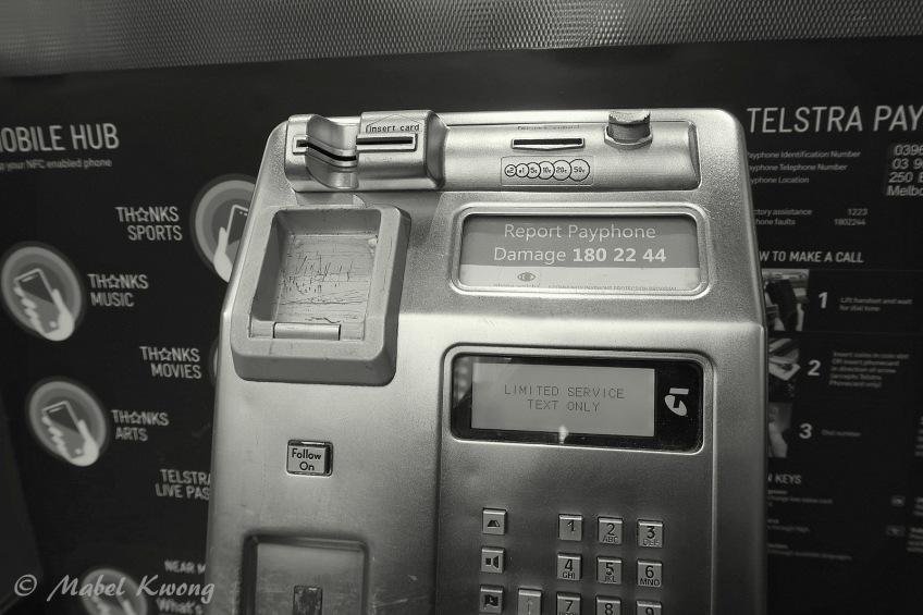 Public Payphone (2), Elizabeth Street, Melbourne, Australia
