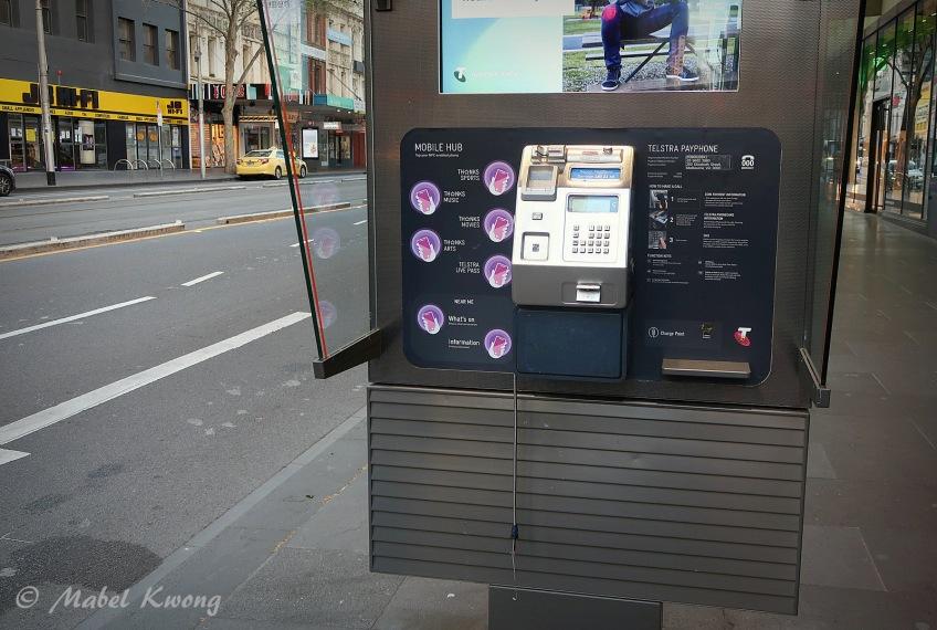 Public Payphone, Elizabeth Street, Melbourne, Australia