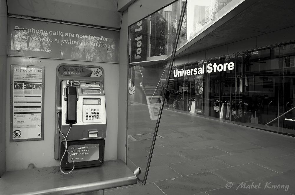Public Payphone (1), Swanston Street, Melbourne, Australia