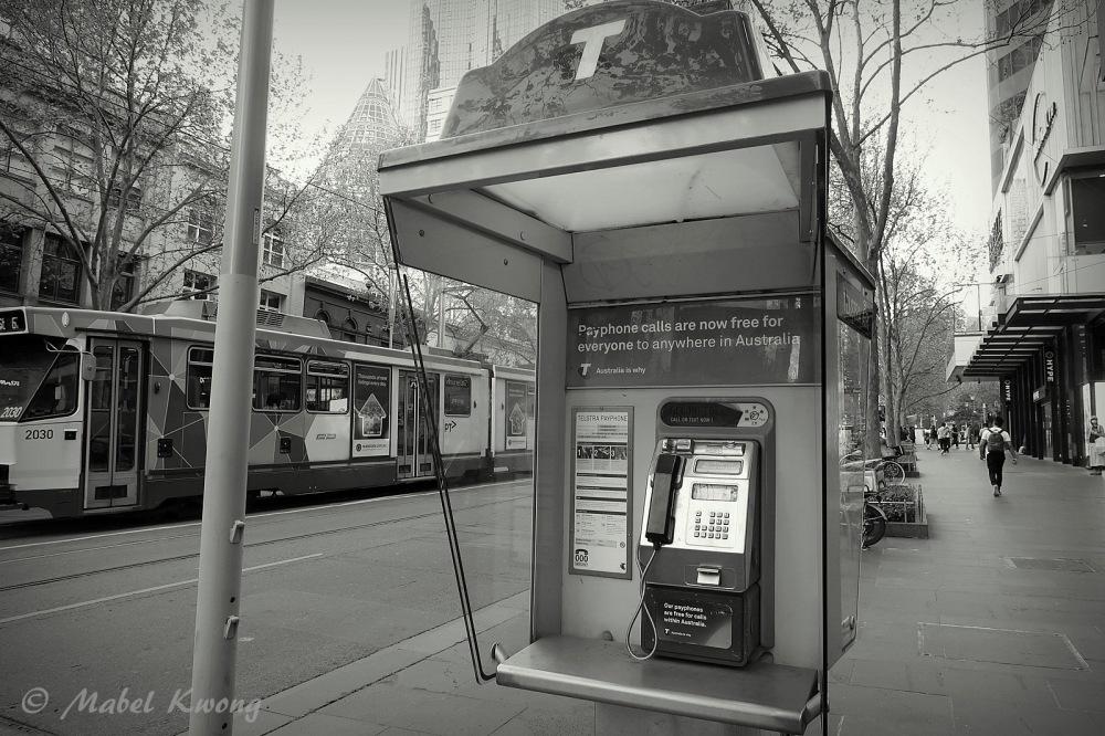Public Payphone, Swanston Street, Melbourne, Australia
